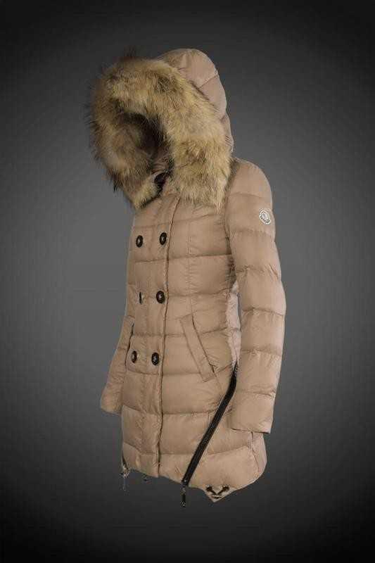 8a1a4dcce73a0a sito officia 2016 Moncler Women 8818 Long Jackets Khaki,giubbott - Clicca  l'immagine.